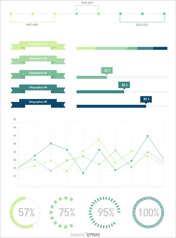 20+ Free Infographic Design Templates - PSD, Vector EPS Format