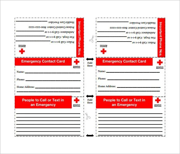 Contact Card Template - 16+ Free Printable Word, PDF, PSD, EPS - contact card template for word