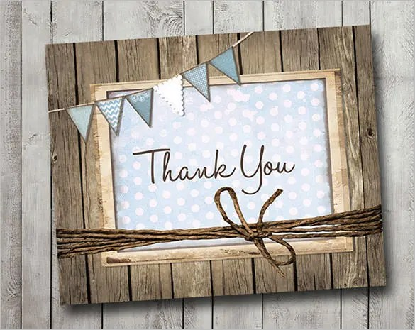 105+ Thank You Cards \u2013 Free Printable PSD, EPS, Word, PDF, Indesign