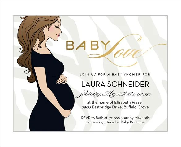 Baby Shower Card Template – 20+ Free Printable Word, Pdf, Psd, Eps