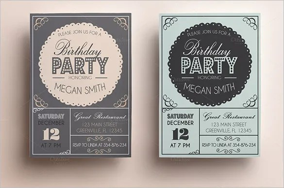 Invitation Card Templates \u2013 37+ Free Printable Word, PDF, PSD, EPS