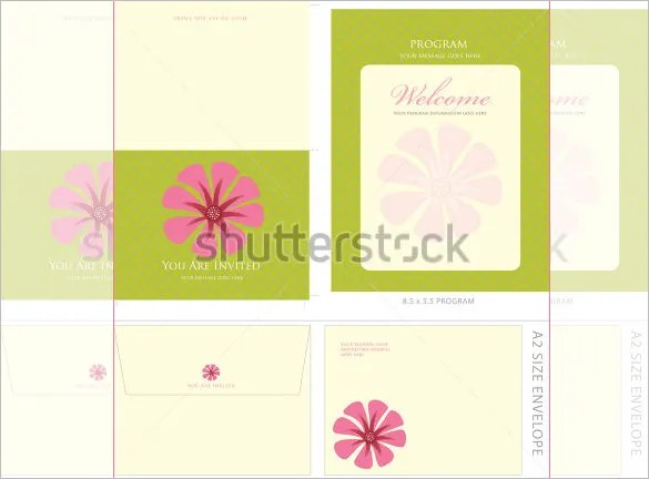 13+ A2 Envelope Templates - PSD Free  Premium Templates - sample a2 envelope template