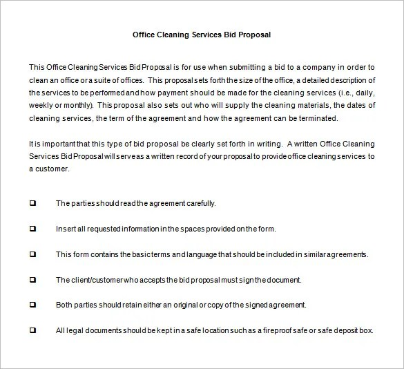 Bid Proposal Template u2013 11+ Free Sample, Example, Format Download - party proposal template