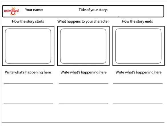 animation storyboard template - Onwebioinnovate - anime storyboard