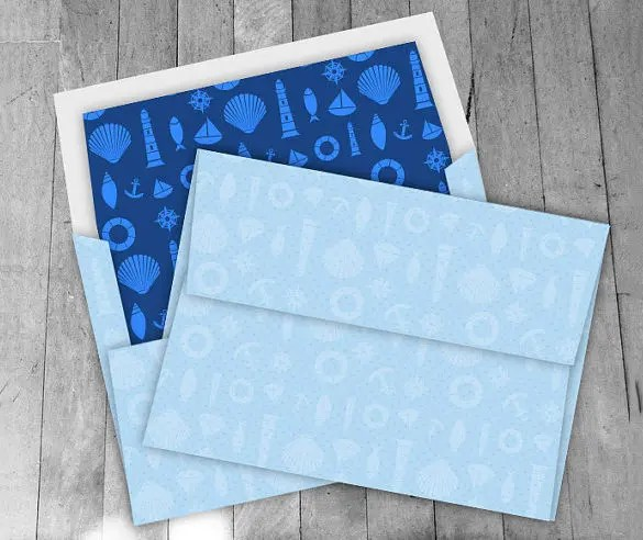 5×7 Envelope Template \u2013 13+ Free Printable, Sample, Example, Format
