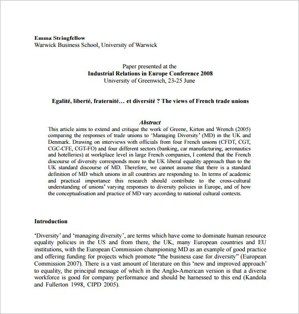 Dissertation Proposal Template u2013 14+ Free Sample, Example, Format - proposal example