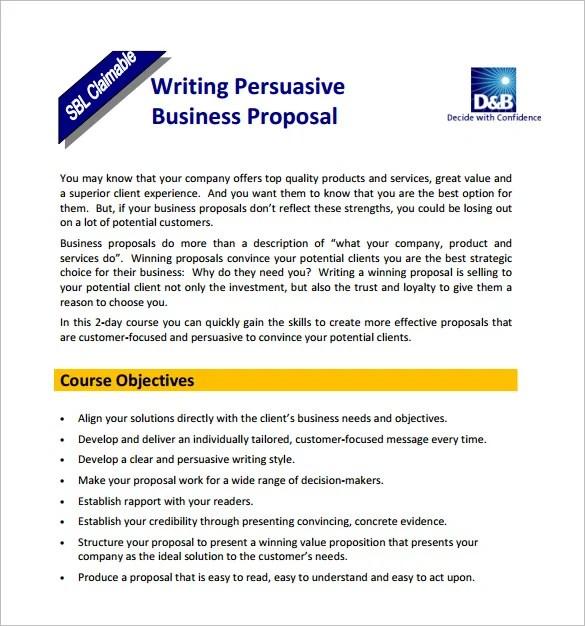 Writing Proposal Templates u2013 19+ Free Word, Excel, PDF Format - freelance proposal template