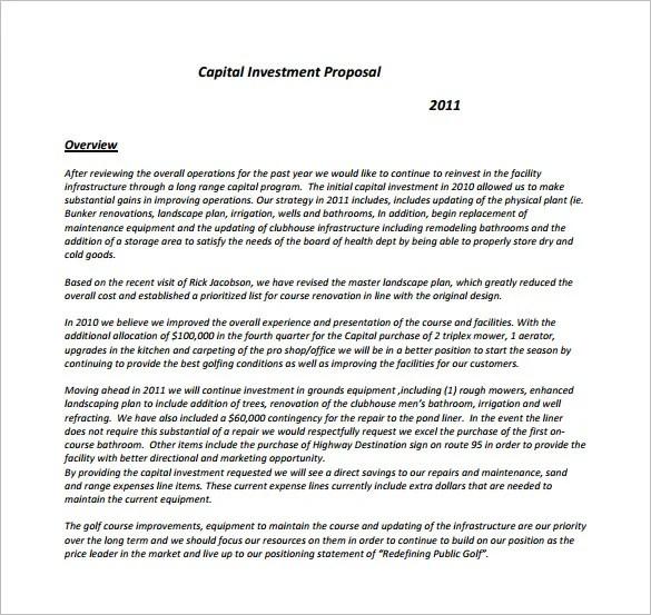 Proposal Templates - professional proposal template