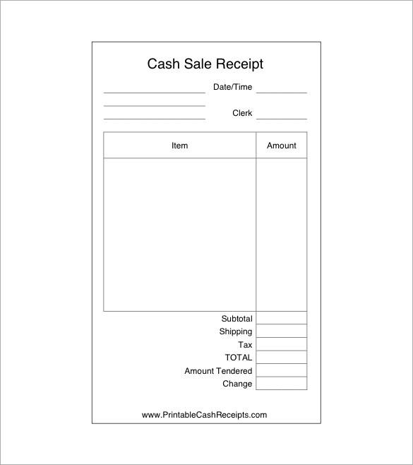 sales receipt - Towerssconstruction