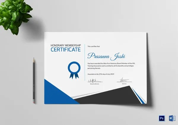 27+ Training Certificate Templates - DOC, PSD, AI, InDesign Free