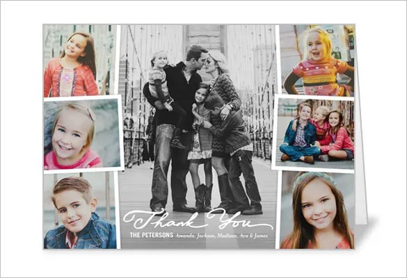 21+ Photo Thank You Cards \u2013 Free Printable PSD, EPS Format Download