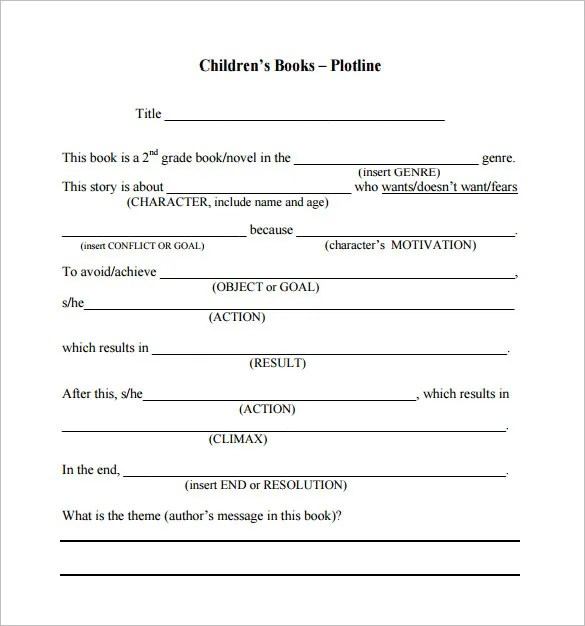 Book Proposal Template - 16+ Free Sample, Example, Format Download