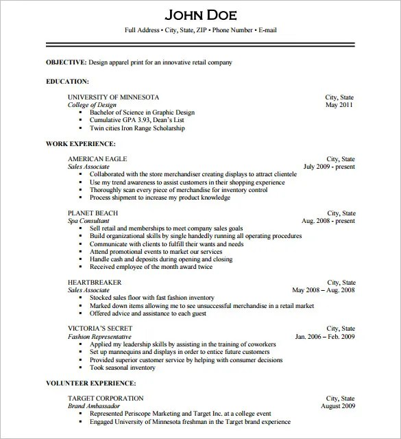 15+ Photographer Resume Templates - DOC, PDF Free  Premium Templates - Photography Objective Resume
