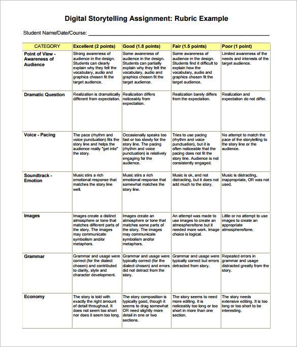 Digital StoryBoard Template u2013 6+ Free Word, Excel, PDF, PPT Format - digital storyboard templates