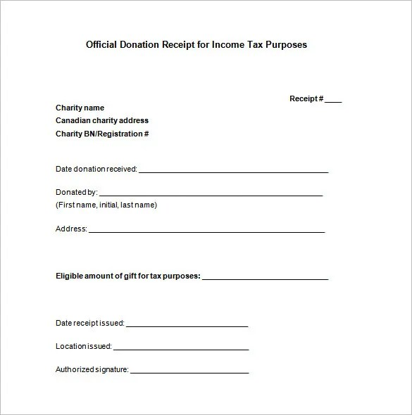 tax donation form template - Solidgraphikworks - Donation Form Templates