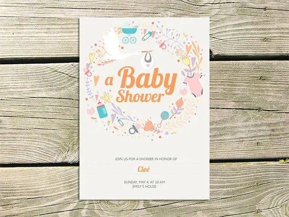 36 Baby Shower Card Designs Templates Word Pdf Psd