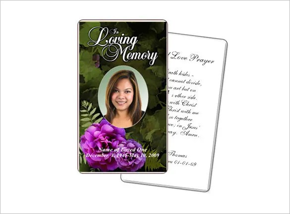 16+ Obituary Card Templates - Free Printable Word, Excel, PDF, PSD - obituary cards templates