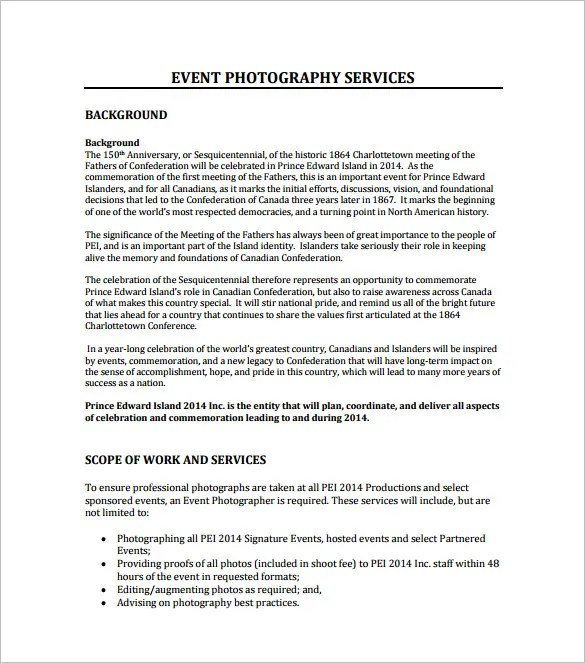Event Proposal Template - 16+ Free Sample, Example, Format Download - Event Proposal Format