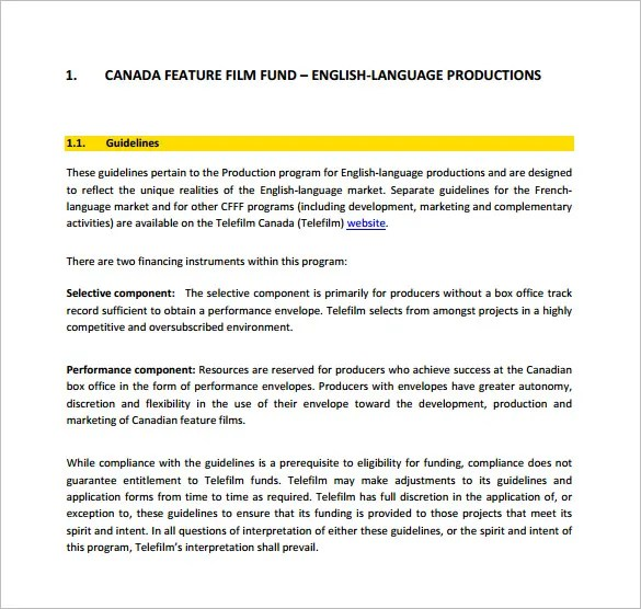 Funding Proposal Template u2013 12+ Free Sample, Example, Format - proposal sample