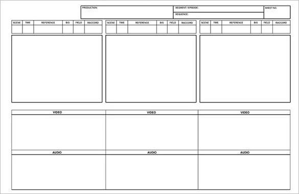 9+ Kids StoryBoard Templates - DOC, PDF, PSD Free  Premium Templates