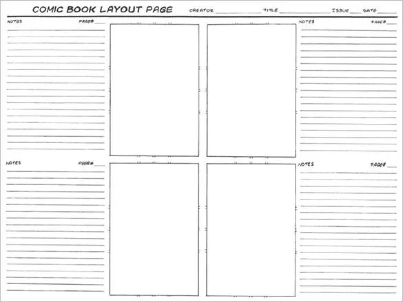 Comic Storyboard Template \u2013 8+ Free Word, Excel, PDF, PPT Format