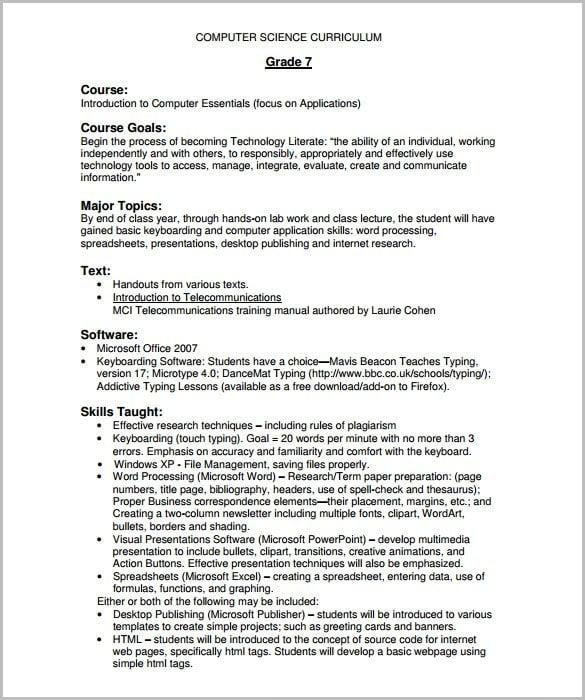 Training Course Outline Template u2013 12+ Free Sample, Example - training outline template