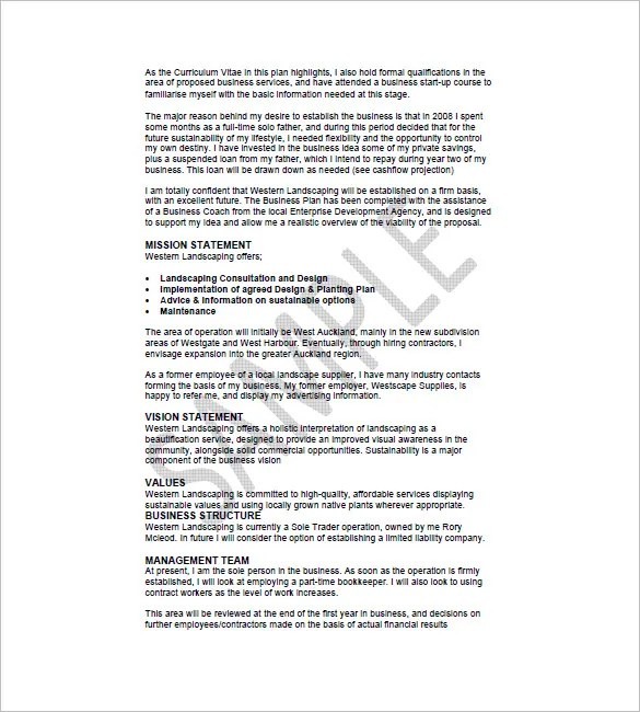 Construction Business Plan Template - 12+ Free Word, Excel, PDF - construction business plan template