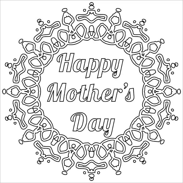 Mothers Day Card Template \u2013 12+ Free Printable Word, PDF, PSD, EPS - mothers day card template