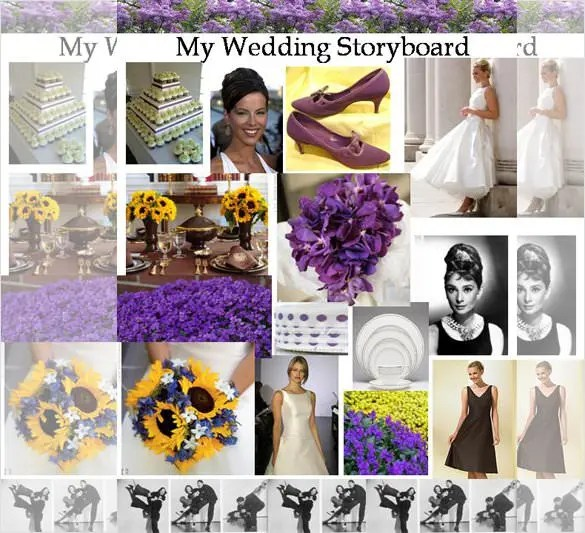 Wedding Storyboard Template \u2013 8+ Free Sample, Example, Format - photography storyboard sample