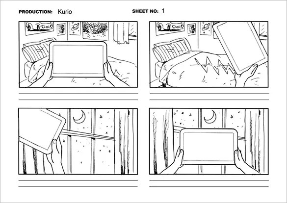 Movie Storyboard Free Sample Example Format Download Powerpoint - sample video storyboard template