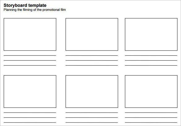 Simple Storyboard Template u2013 8+ Free Sample, Example, Format - free storyboard templates