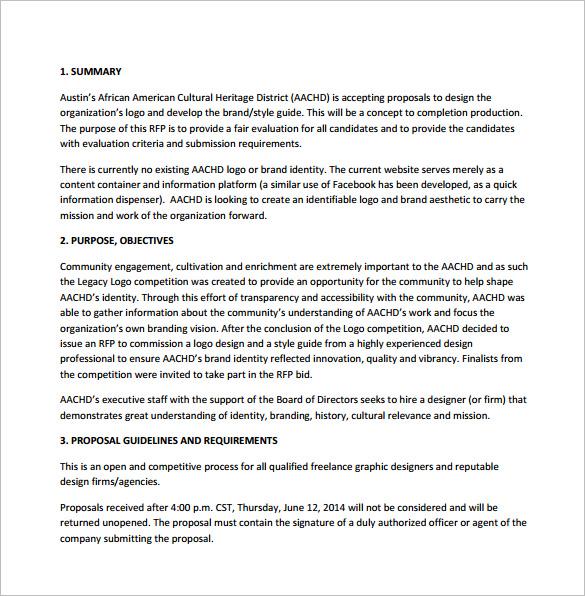Logo Design Proposal Template Free Download - oukasinfo - business proposal software free download