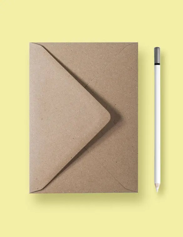 Envelope Template \u2013 68+ Free Printable PSD, PDF, EPS, Word, Excel