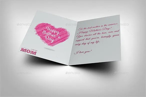 11+ Mothers Day Card Templates - PSD, EPS Free  Premium Templates