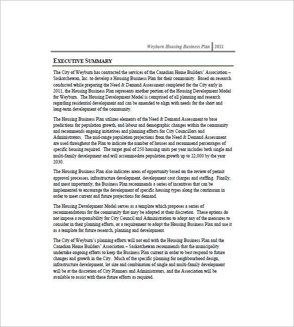 Construction Business Plan Template - 12+ Free Word, Excel, PDF - business requirements document template