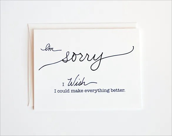 Sympathy Card Template - 17+ Free Sample, Example Format Download