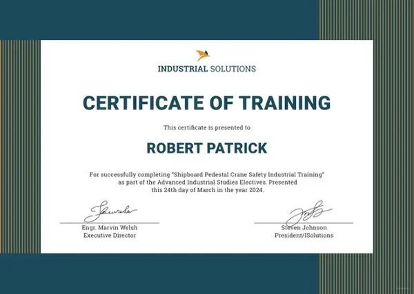 Firearms Training Certificate Template officesetupcom