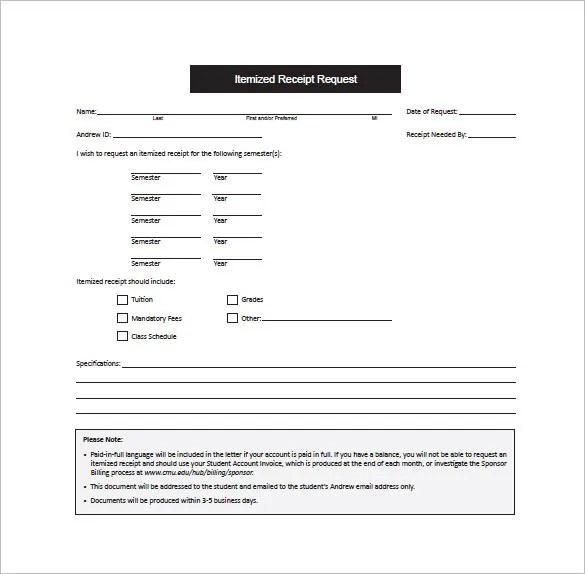 Receipt Template - 122+ Free Printable Word, Excel, AI, PDF Format - receipt template pdf