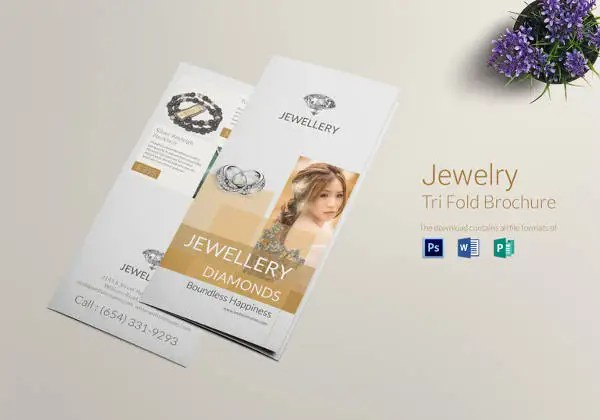 19+ Jewelry Brochure Templates - AI, PSD, Google Docs, Apple Pages