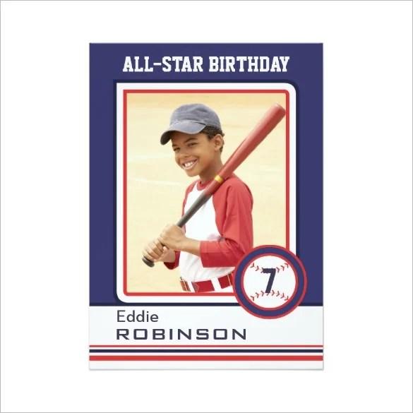 Baseball Card Template \u2013 9+Free Printable Word, PDF, PSD, EPS Format
