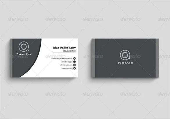 Visiting Card Template - 19+ Free Sample, Example Format Download