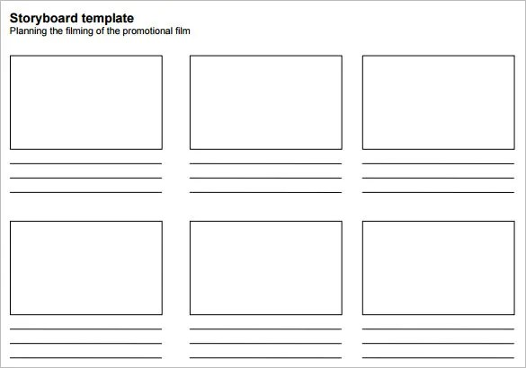 7+ Movie StoryBoard Templates - DOC, Excel, PDF, PPT Free