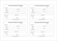 18+ Donation Receipt Templates - DOC, PDF | Free & Premium ...