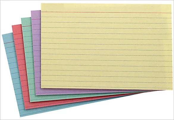 10+ Index Card Templates - JPG, Vector EPS, Illustrator Free