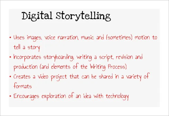 Digital Storyboard Template u2013 7+ Free Sample, Example, Format - sample script storyboard