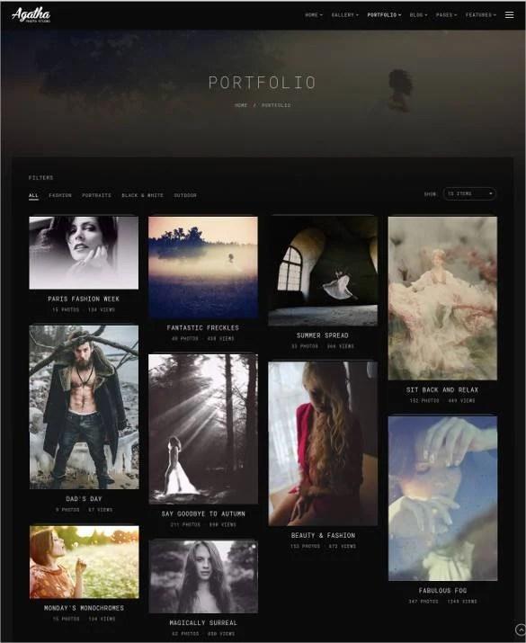 38+ Free  Premium Photography Website Themes  Templates Free