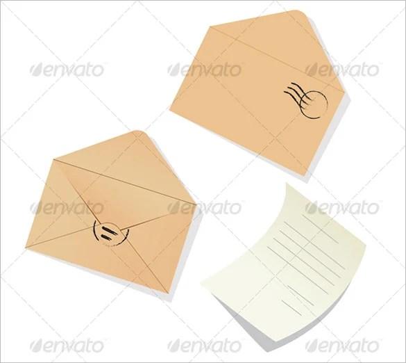 14+ Letter Envelope Templates - PSD, EPS Free  Premium Templates