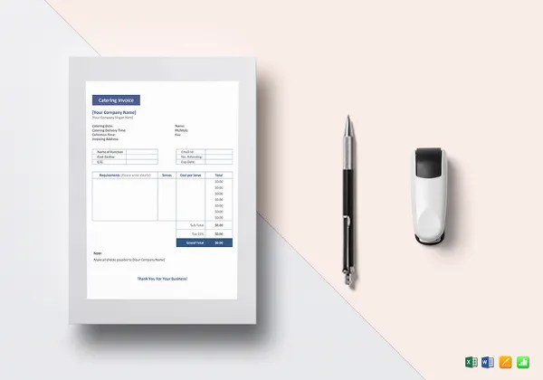 blank invoice doc printable invoice template collection of - plumbing receipt template