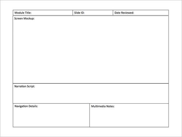 sample video storyboard template hitecauto - sample script storyboard