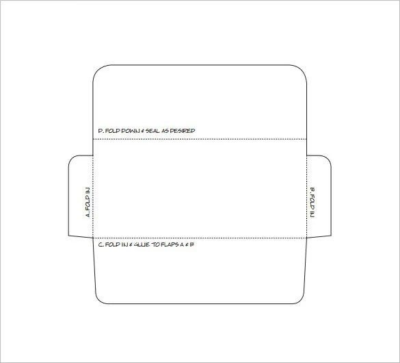 Envelope Template u2013 68+ Free Printable PSD, PDF, EPS, Word, Excel - 4x6 envelope template